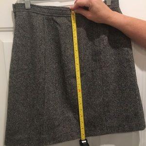 Talbots lined skirt